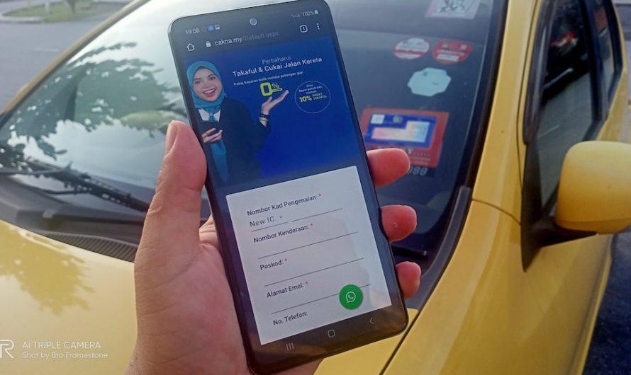 Renew Takaful dan Road Tax Secara Online Melalui Potongan Gaji Dengan CAKNA
