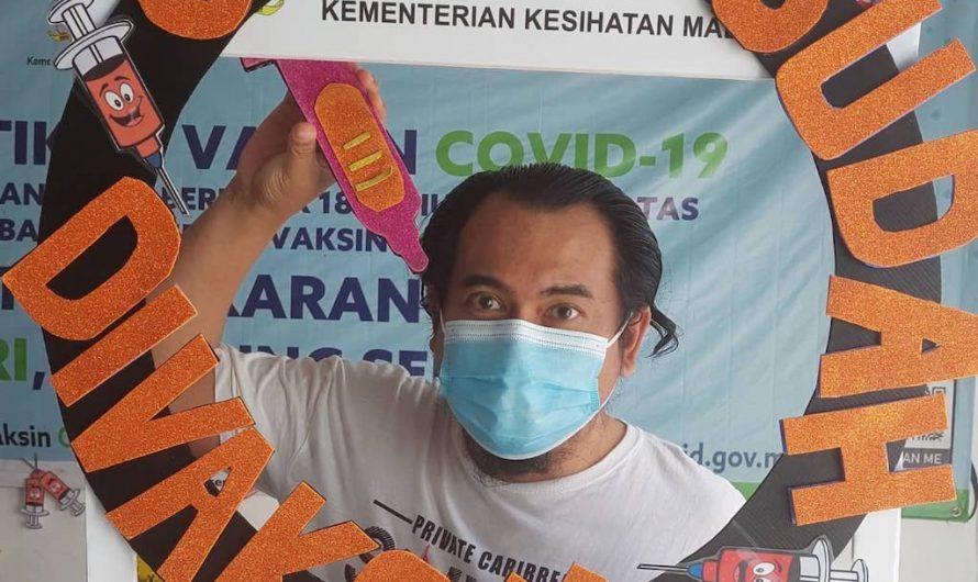Pengalaman Suntik Vaksin Dose Pertama di Stadium Tertutup Kuala Selangor